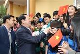 Le président Trân Dai Quang formule ses vœux du Têt à Nghê An