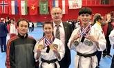 Taekwondo : le Vietnam gagne quatre médailles dor en France