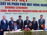 Vietnam et République de Corée : coopération dans la production de machines agricoles