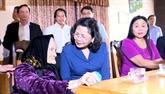 La vice-présidente de la République en visite à Gia Lai et à Kon Tum