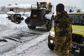 Le centre de l'Italie, sous la neige, n'en finit plus de trembler