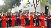 Hanoï : inauguration dun atelier de formation professionnelle de soudage