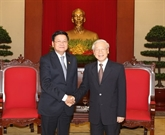 Les relations Vietnam-Laos se sont bien développées en 2016