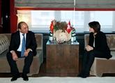 Le PM termine son voyage à Davos pour le Forum économique mondial