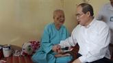 Têt traditionnel : le président du Front de la Patrie se rend à Vinh Long