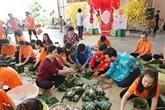 Hô Chi Minh-Ville : Des banh chung pour les personnes démunies