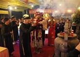 Ouverture de la fête du Temple des rois Trân à Thai Binh