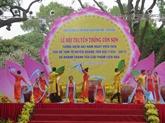 Ouverture de la fête printanière de Côn Son - Kiêp Bac à Hai Duong