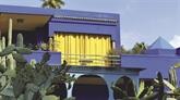 C'est une maison bleue... la villa Majorelle
