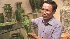 Un artisan qui redonne vie aux émaux anciens