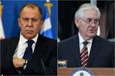 Première rencontre Lavrov-Tillerson le 16 février à Bonn au G20