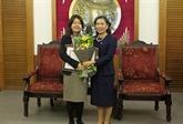 La représentante en chef adjointe du FNUAP au Vietnam à lhonneur