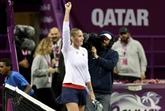 Pliskova et Wozniacki, survivantes du mauvais temps, en finale à Doha