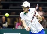 Tennis : le Français Herbert bat lAutrichien Thiem et file en demi-finales à Rotterdam