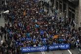 Espagne : manifestation géante à Barcelone pour laccueil des réfugiés