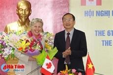 Le Canada aide Hà Tinh à développer lagriculture intelligente face au climat