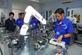 Aides japonaises pour un projet de formation en robotique et automatisation