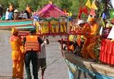 Fête daccueil de Monseigneur la Baleine à Bac Liêu