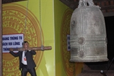 Une paire de cloches anciennes à Cao Bang reconnue Trésor national