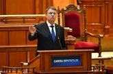 Roumanie : le président suggère une démission du gouvernement