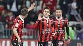 Ligue 1 : Nice 2e dans la douleur, Marseille 5e avec le sourire