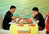 Ouverture de tournoi international déchecs HDBank.