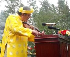 En mémoire des victimes du massacre de My Lai à Quang Ngai