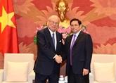 Les parlementaires vietnamiens apprécient l'amitié avec le Japon