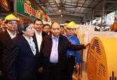 Le Premier ministre inspecte la technologie de valorisation énergétique des déchets