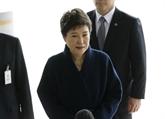 République de Corée : l'ex-présidente Park devant les magistrats du parquet