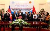 Vietnam et Cambodge intensifient leur coopération dans le travail