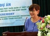 La Belgique aide Ninh Thuân à mieux gérer ses ressources en eau