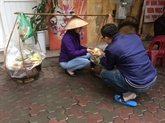 Créer des emplois pour les vendeurs ambulants