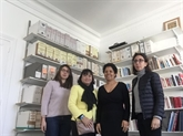 Visite de la présidente de la section Vietnam de l'UPF à la Cité Bergère