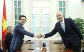Le vice-Premier ministre Vu Duc Dam reçoit le directeur général de l'OMPI