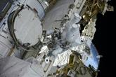 Le Français Thomas Pesquet effectue sa 2e sortie orbitale