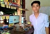 Une maison parasismique conçue par un jeune Vietnamien