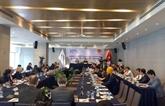 Réunion d'une commission de l'Assemblée parlementaire de la Francophonie à Hô Chi Minh-Ville