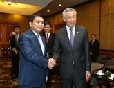 Hanoï souhaite nouer des liens multisectoriels avec Singapour