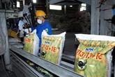Les exportations d'engrais retrouvent la croissance