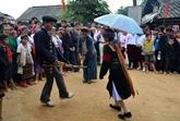Festival du marché de lamour de Khâu Vai à Hà Giang