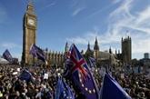 Manifestation à Londres contre le Brexit