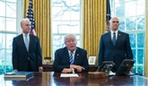 Trump tente de rebondir après le fiasco sur sa réforme de lassurance santé