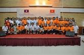 Renforcement de lamitié Vietnam-Laos