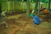 Les fouilles confirment la valeur scientifique de lancienne pagode de Trà Vinh