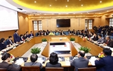 Hanoï et Vientiane échangent des expériences dans la réforme administrative