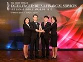 La BIDV primée pour la 3e fois en tant que meilleure banque de détail du Vietnam