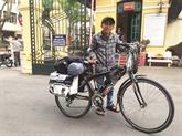 À vélo, ils sensibilisent à limportance du don dorganes