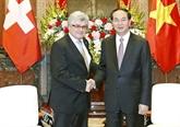 Le Vietnam donne de l'importance aux relations avec la Suisse
