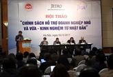 Le Vietnam et le Japon partagent des expériences dassistance aux PME